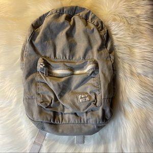 Herschel Supply Co. Grey & White Backpack GUC